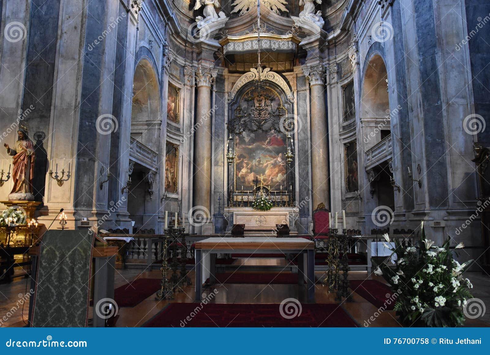 Basilique d Estrela à Lisbonne, Portugal