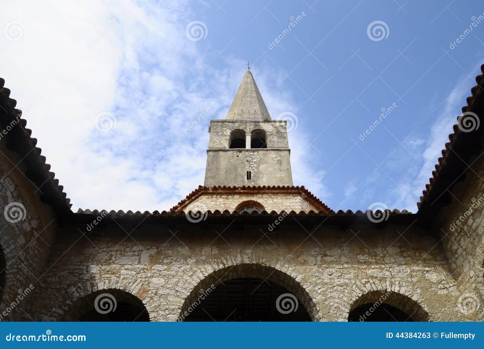 Basilique d Euphrasian dans Porec, Croatie
