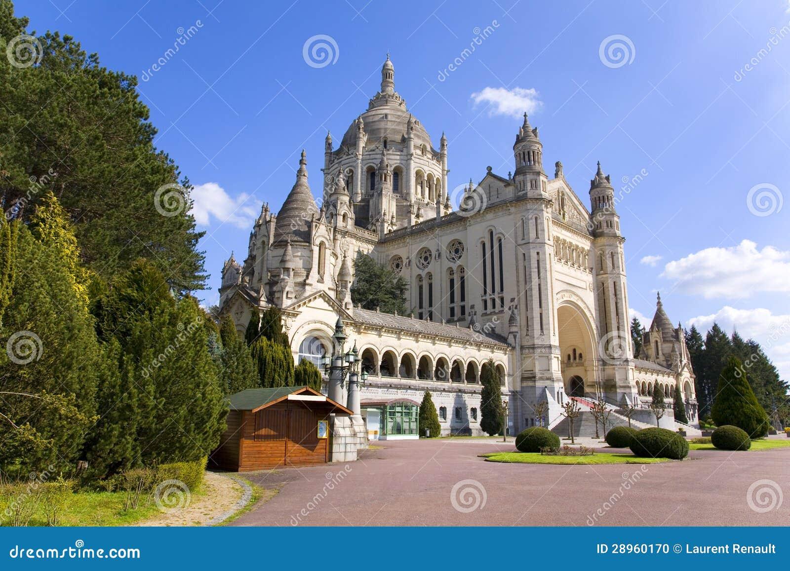 Lisieux France  city photos gallery : Basilique De Lisieux Normandie, France Photo stock Image: 28960170