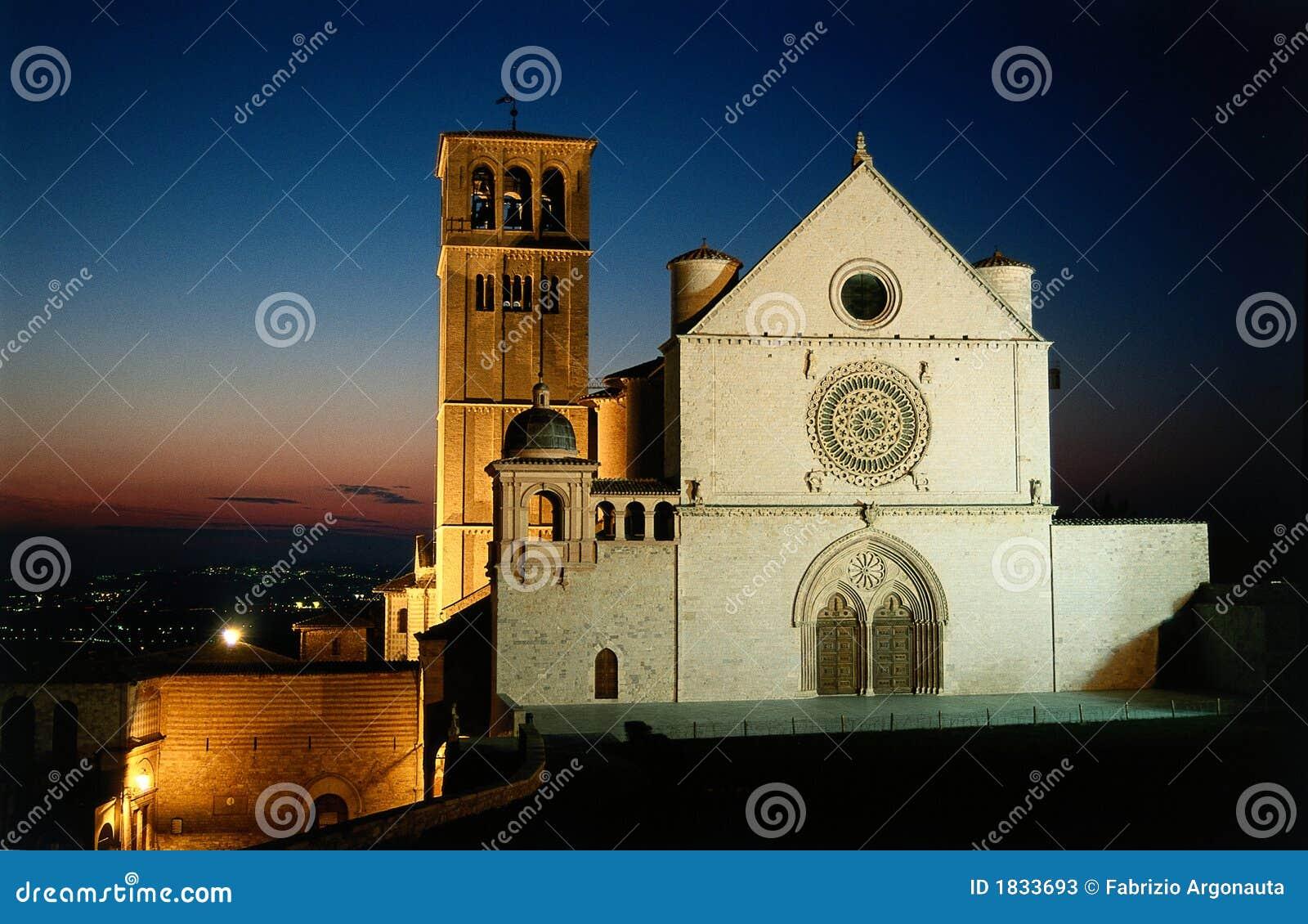 Basilique de rue Francis d Assisi