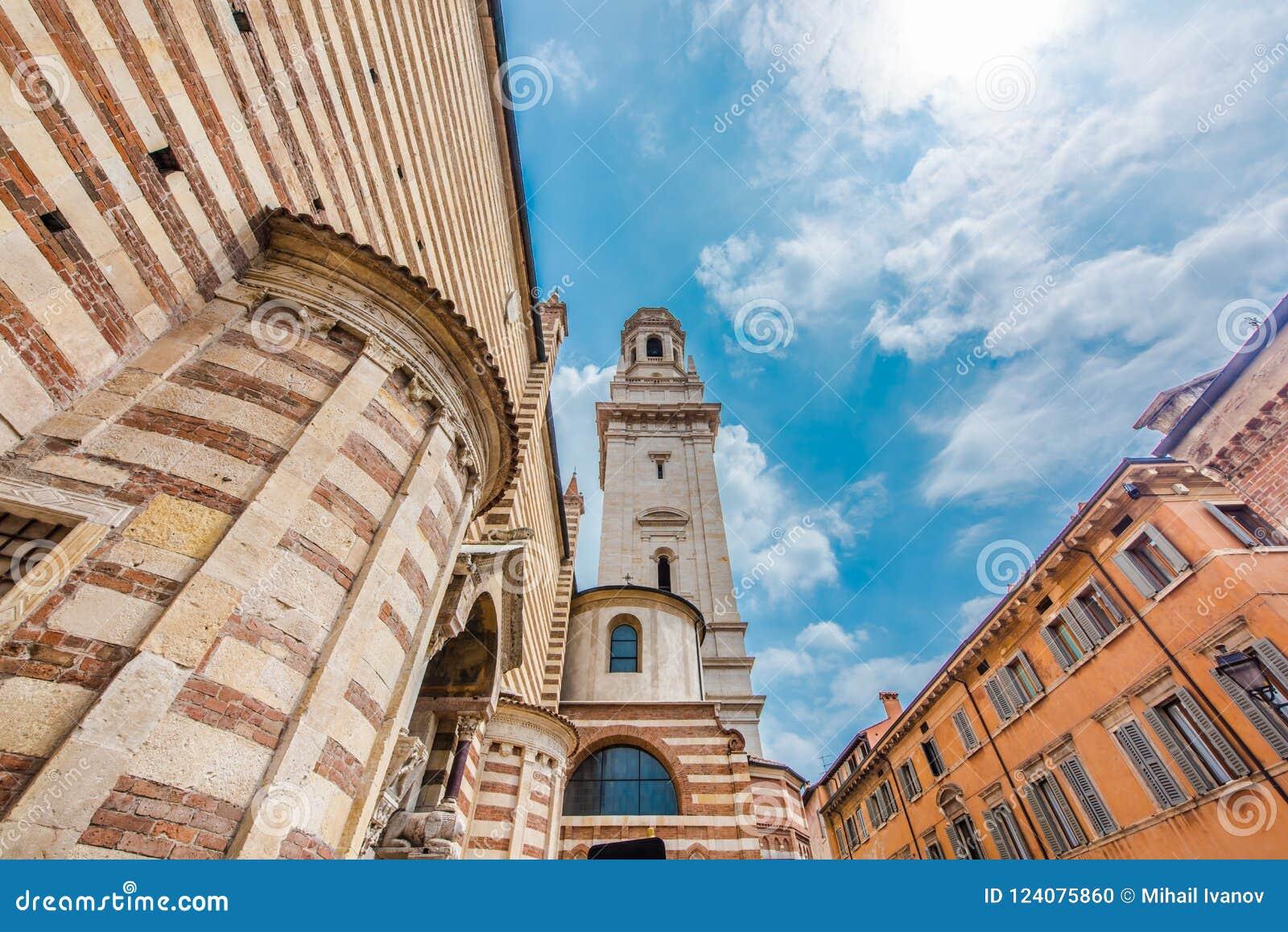 Basilique de San Zénon, Vérone, Italie