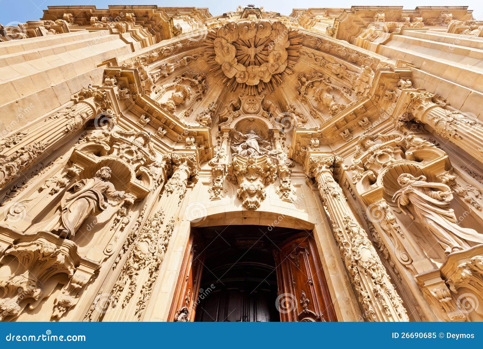 Basilique de Santa Maria del Coro dans San Sebastian