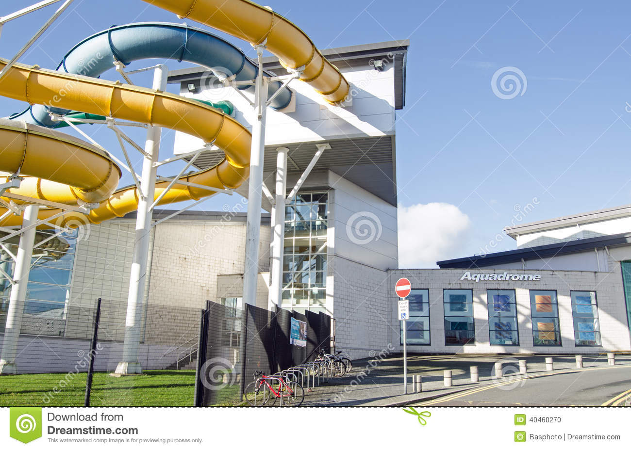 Basingstoke aquadrome editorial image image 40460270 - Swimming pools with waterslides in london ...
