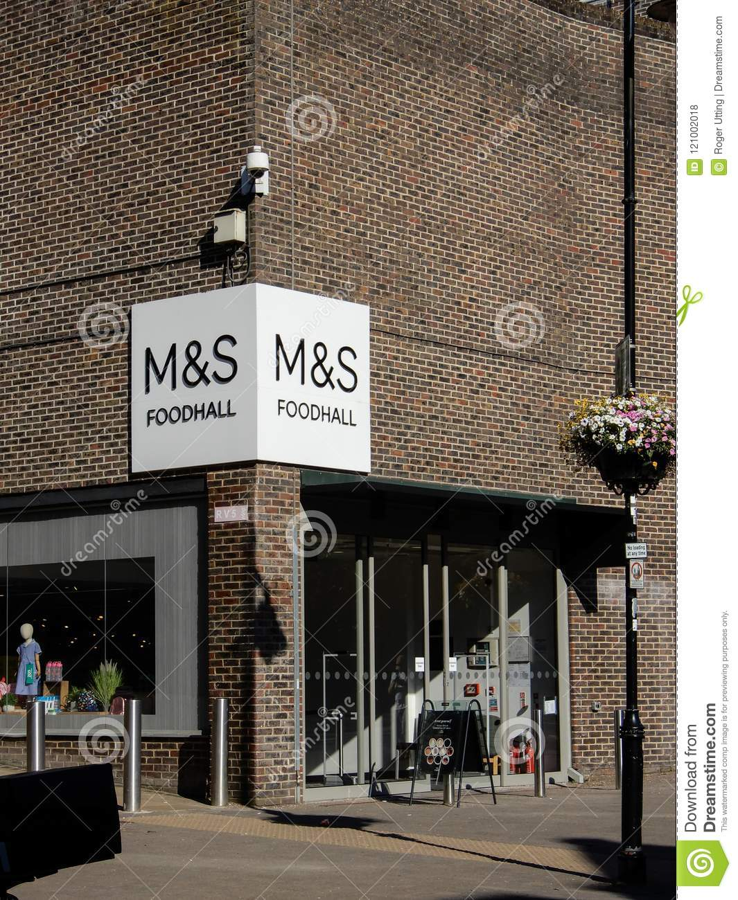 M&S Food hall