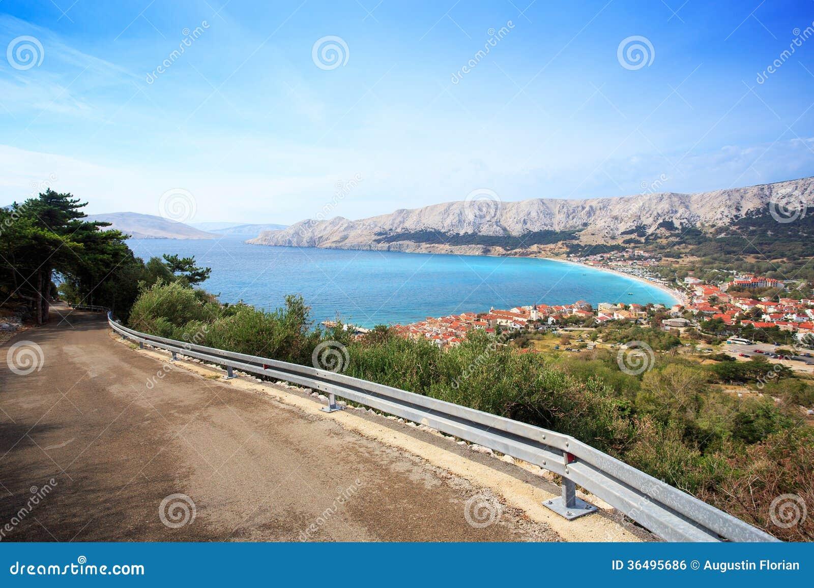 Baska resort, Croatia