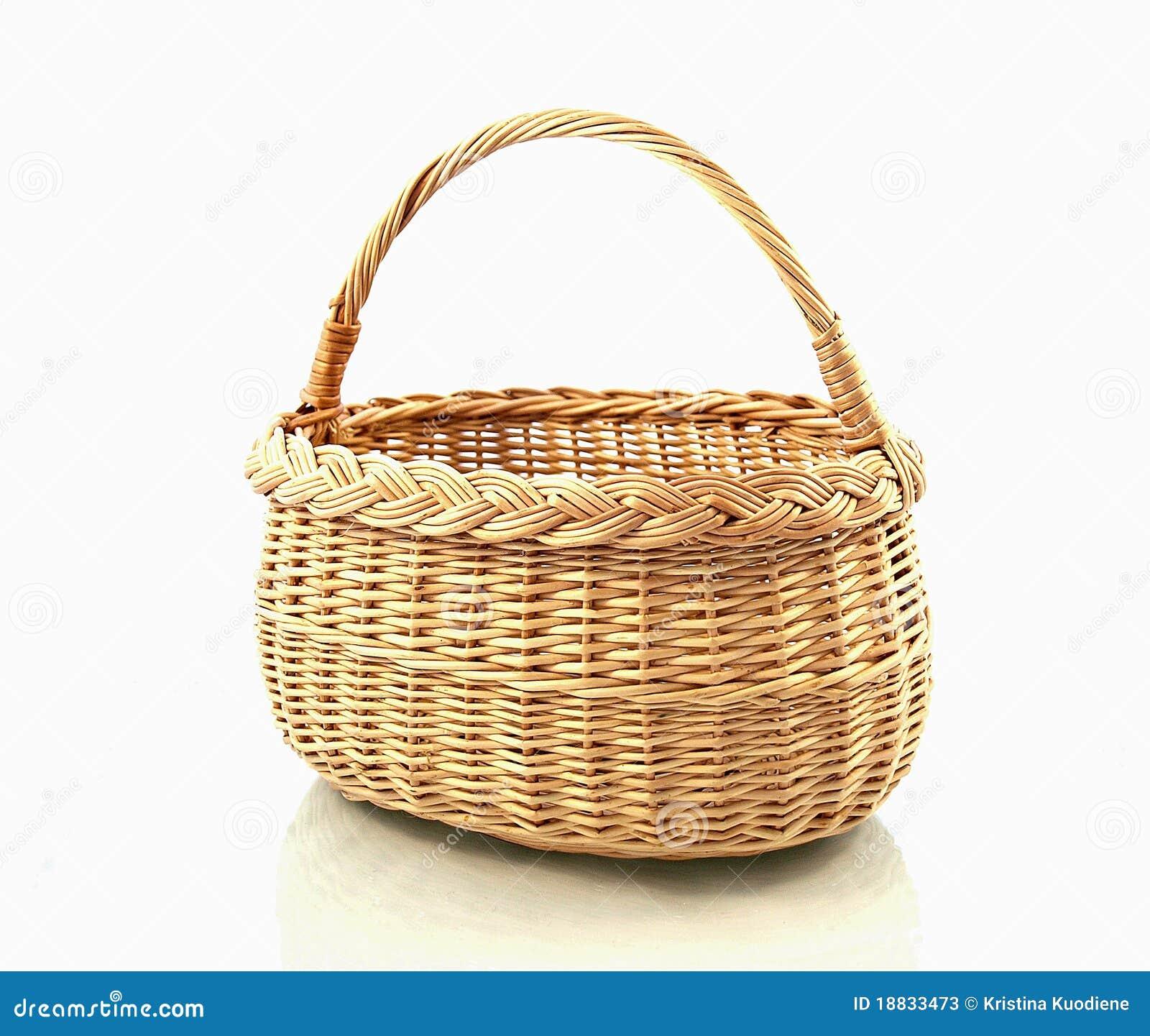 Basket Stock Photos Image 18833473