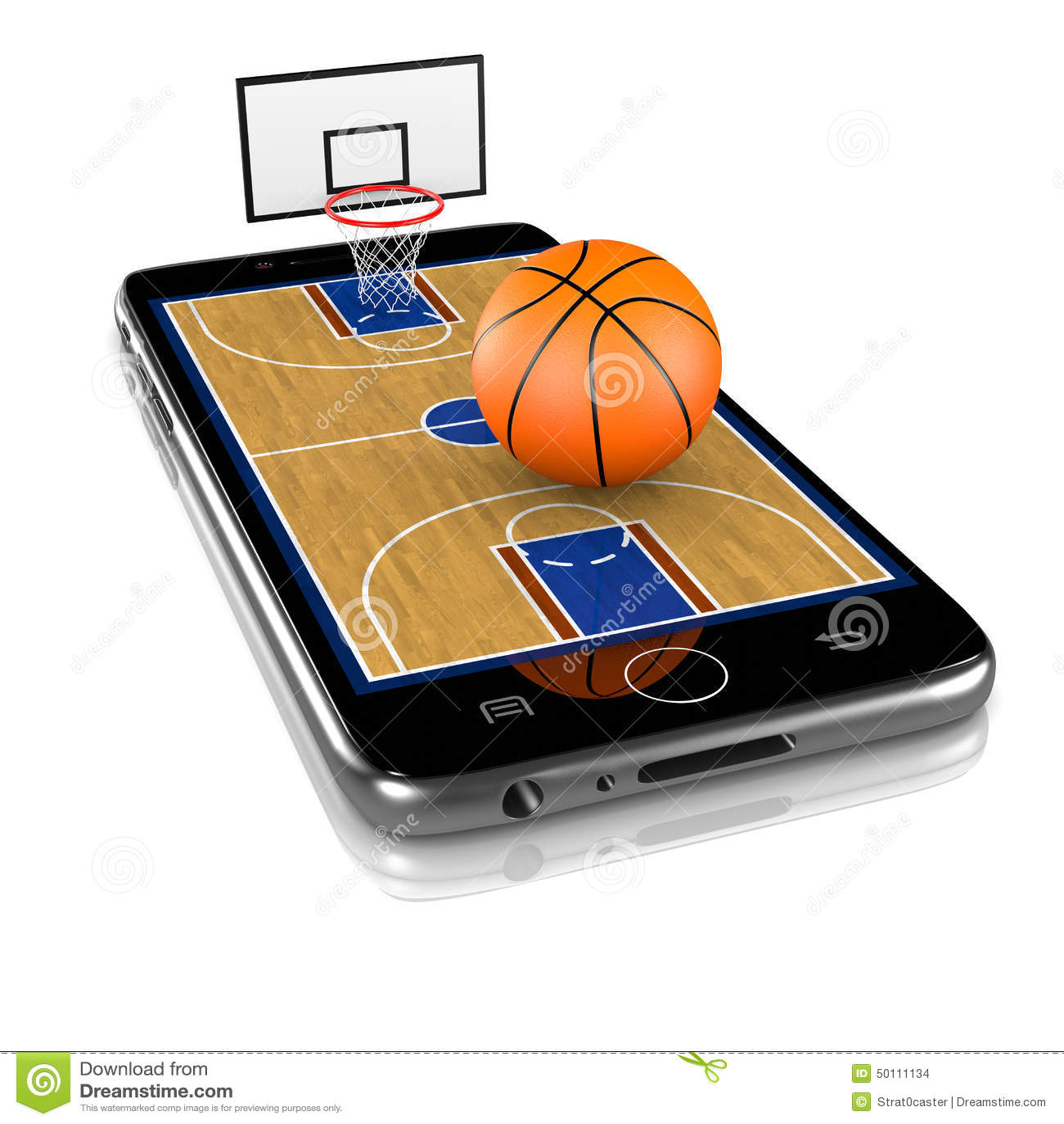 Basket-ball sur Smartphone, sports APP