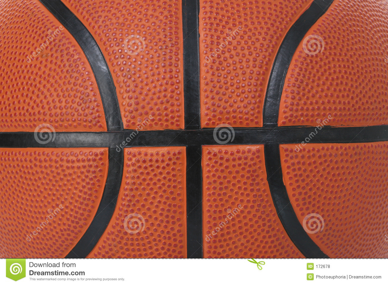 Basket Ball Texture Royalty Free Stock Photos - Image: 172678
