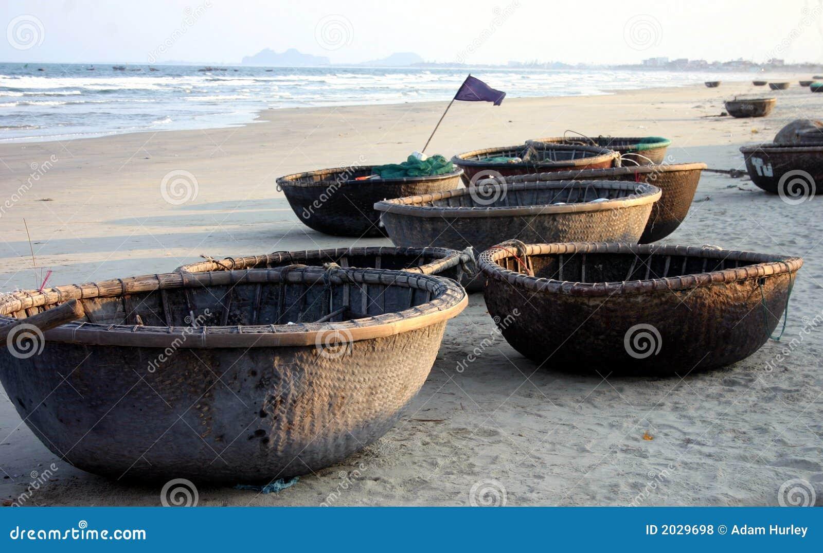 Basket Boats - Vietnam