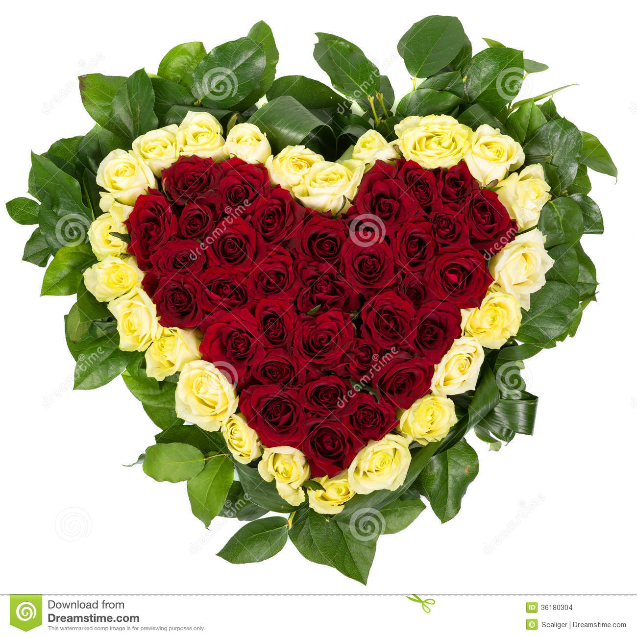 Basket of natural roses in the shape of heart stock photo for Bouquet de fleurs nature
