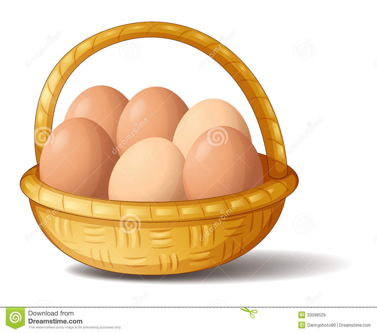 a basket with six eggs stock vector illustration of breakfast food clipart black and white breakfast food clip art free