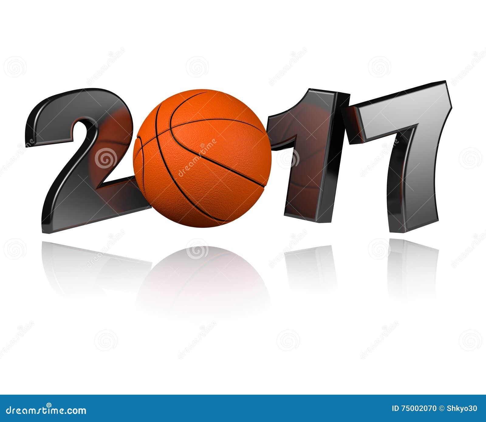 Basketbal 2017 ontwerp