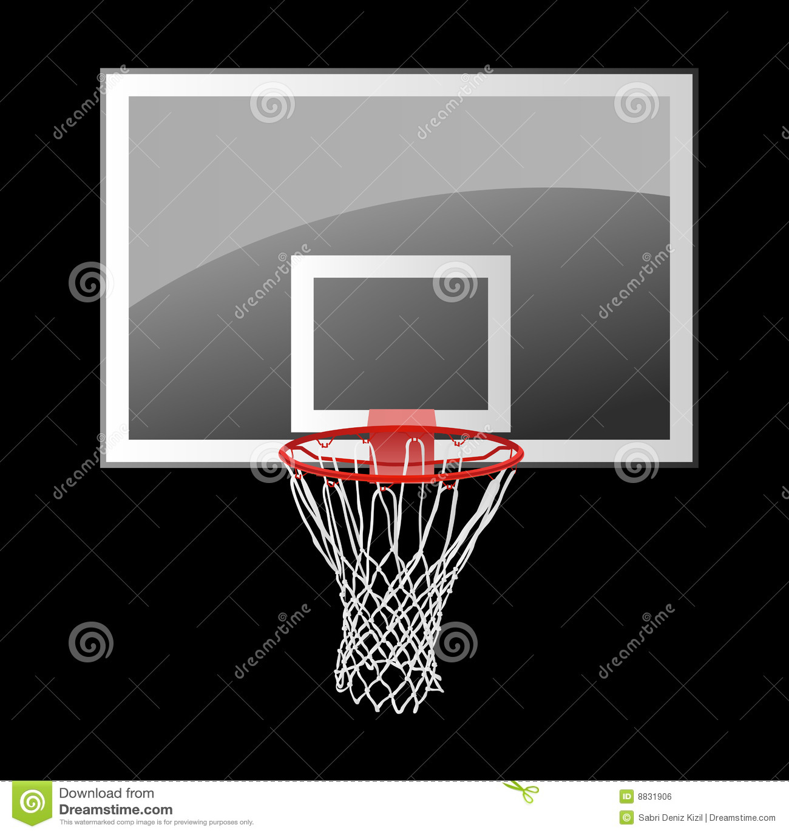 basketball backboard royalty free stock image image 8831906 Basketball Hoop Logo Basketball Net Clip Art