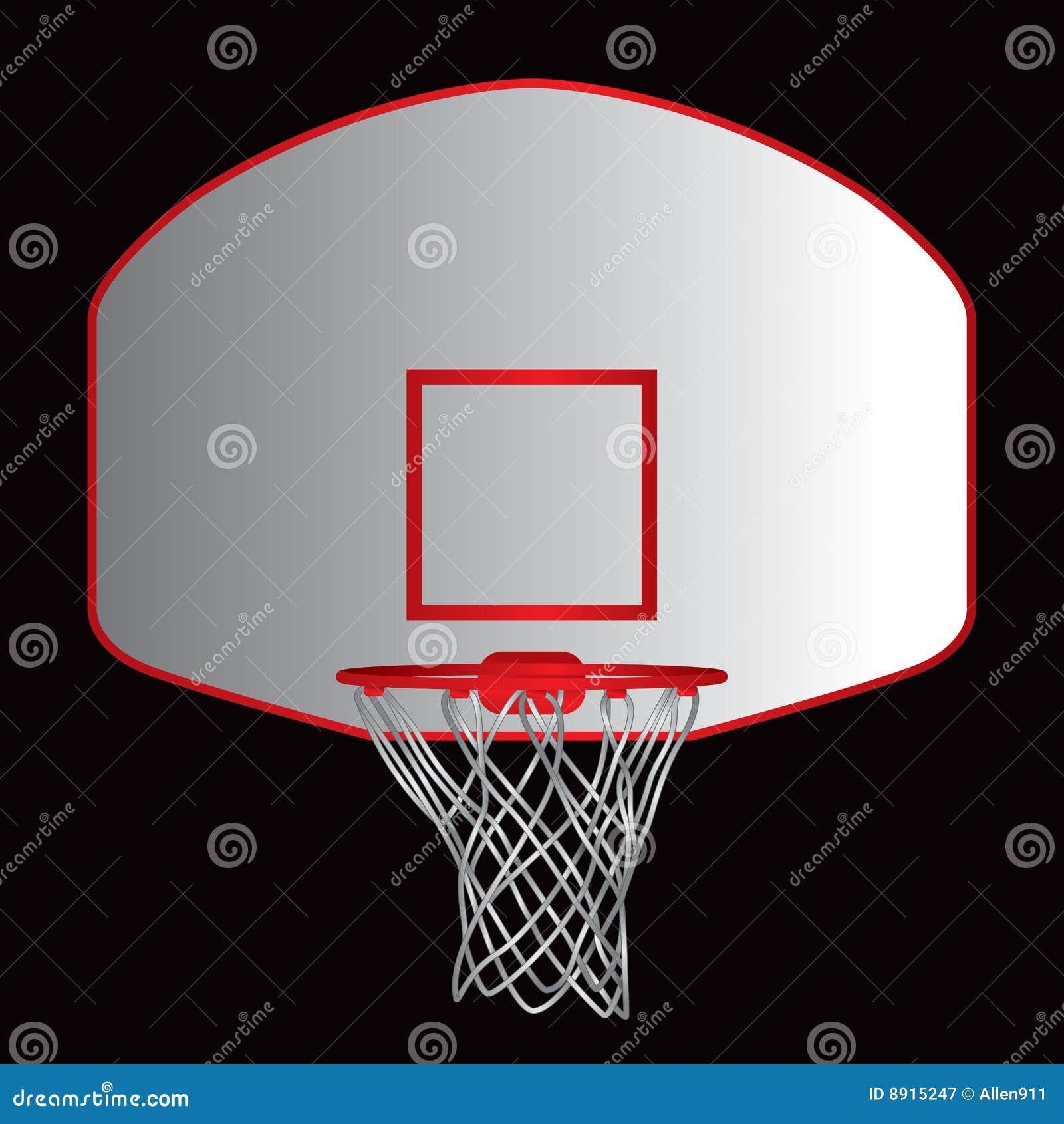 Basketball Backboard Royalty Free Stock Photography