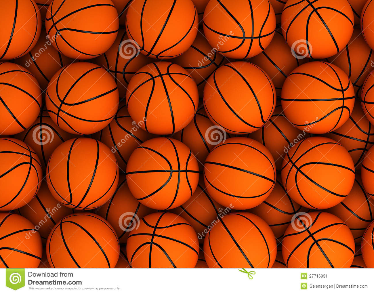 Basketball Background Stock Illustration Illustration Of