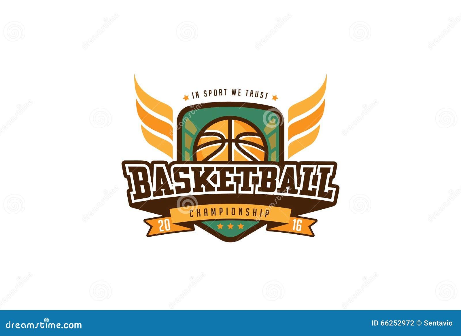 Basketball Badge Logo Design. T-shirt Sport Team Identity Label ...