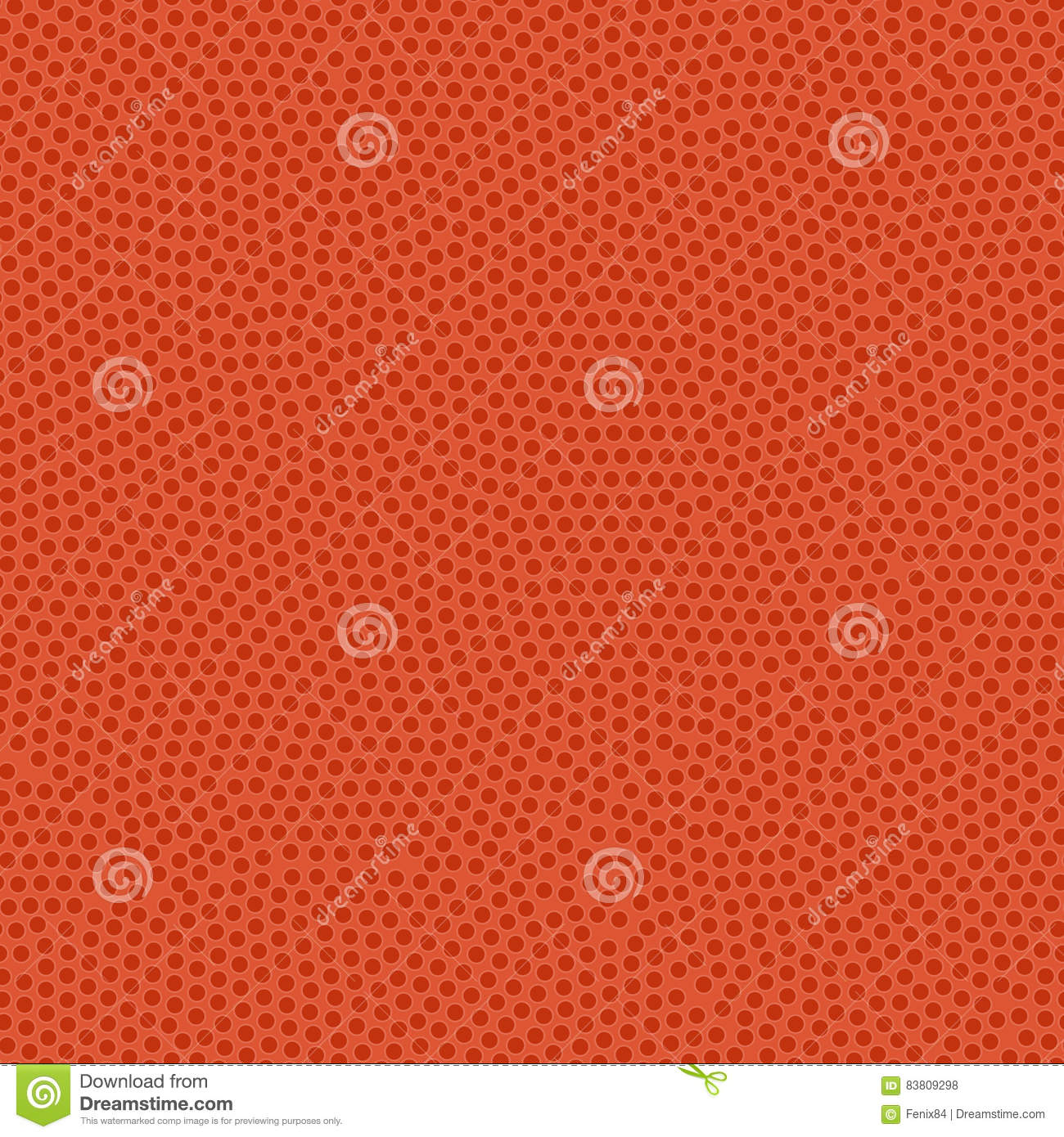 Basketball ball texture. Orange rubber coating with pimples. Sea