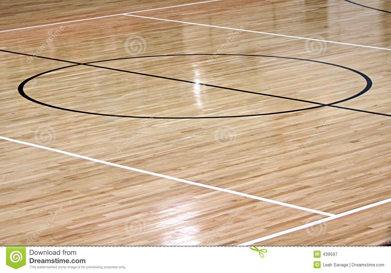 Basketball Center Court Royalty Free Stock Photography ...