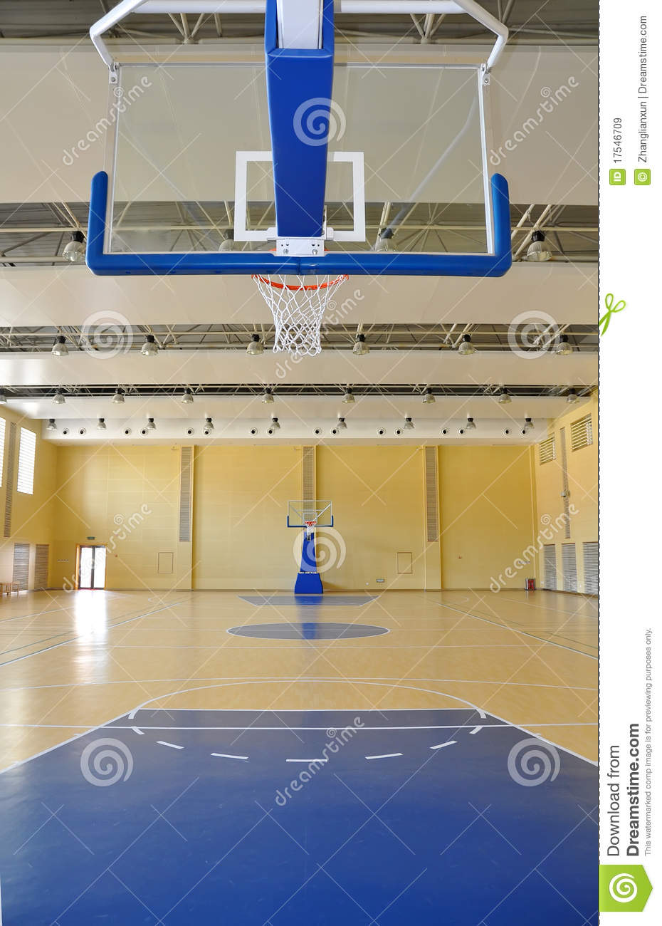 Basketball Court Stock Image Image Of Courts Goal Stage 17546709