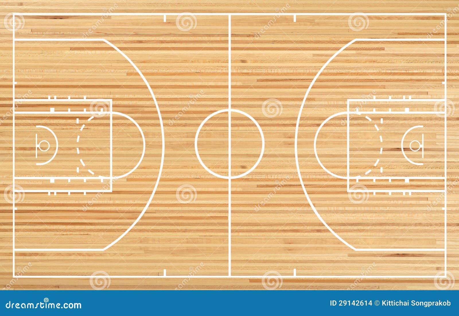 Basketball Court Floor Plan: Basketball Court Stock Illustration. Illustration Of Fake
