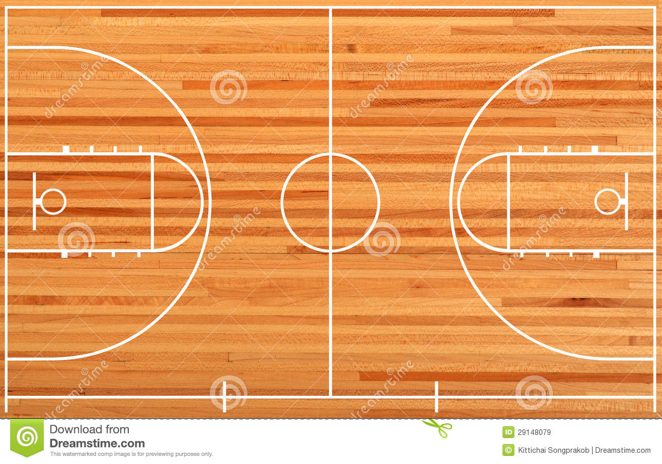 Basketball Court Royalty Free Stock Images - Image: 29148079