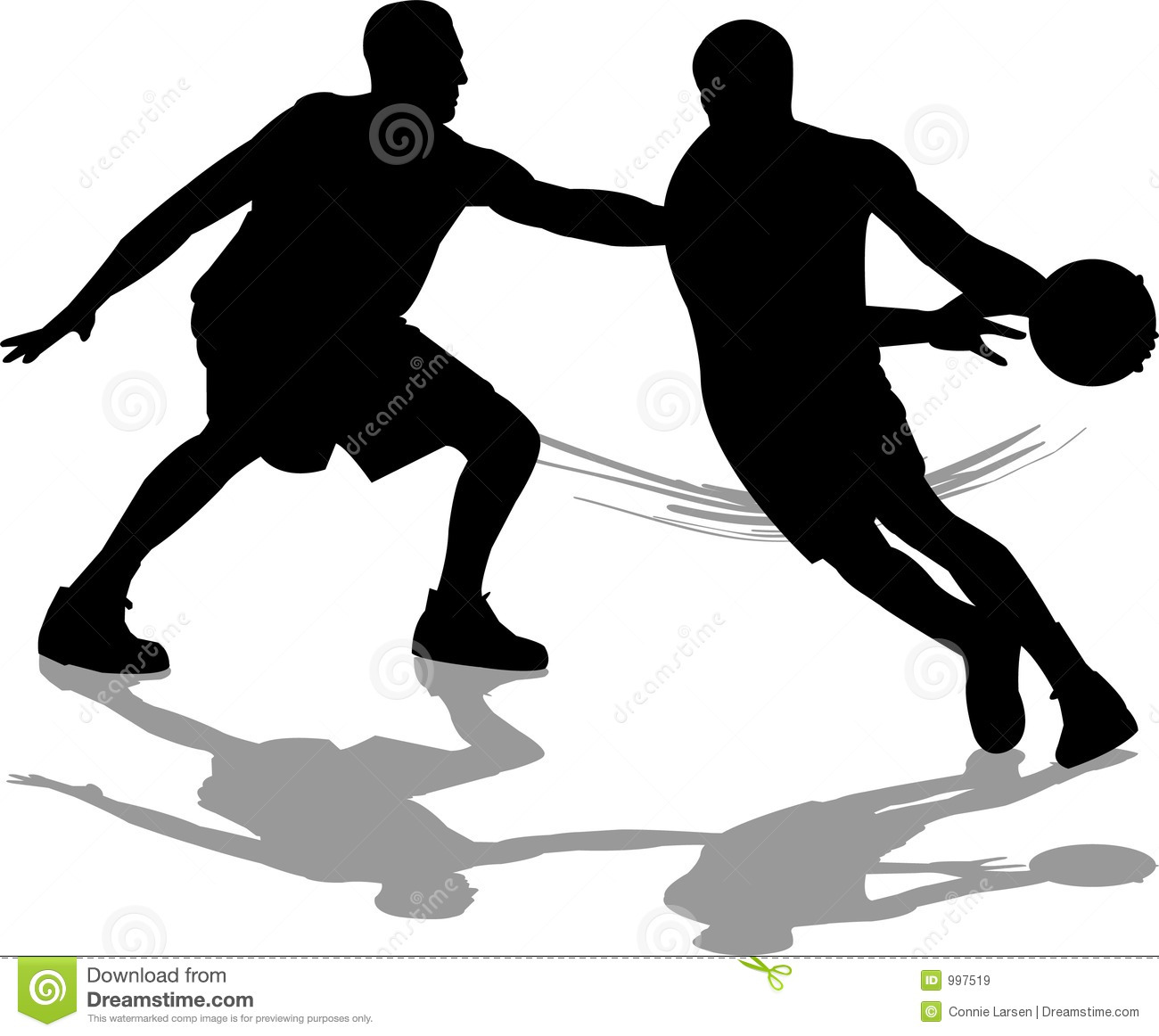 basketball defense royalty free stock images image 997519