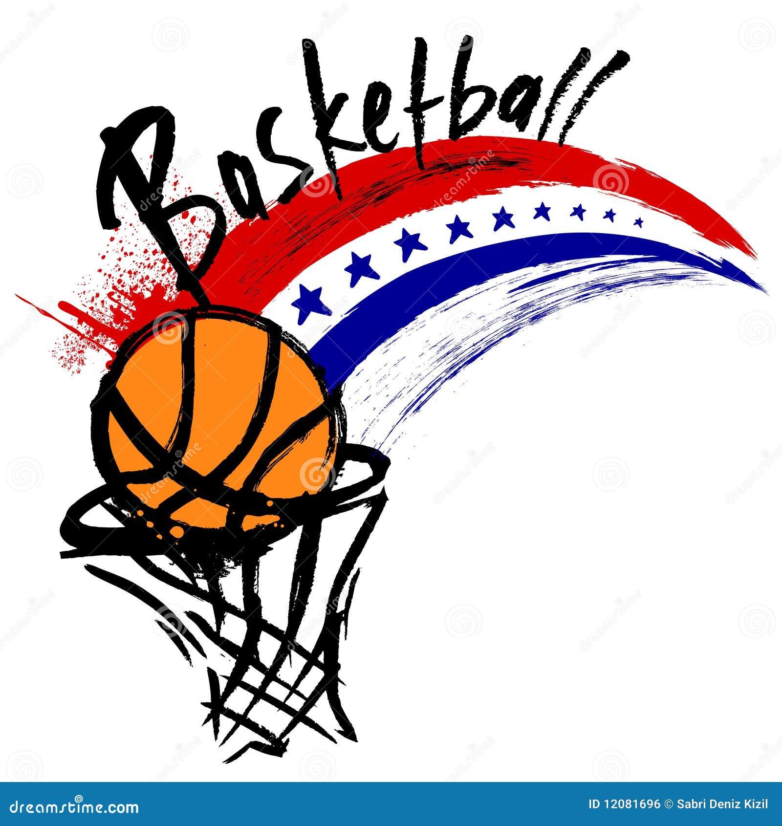 basketball design stock vector illustration of team 12081696