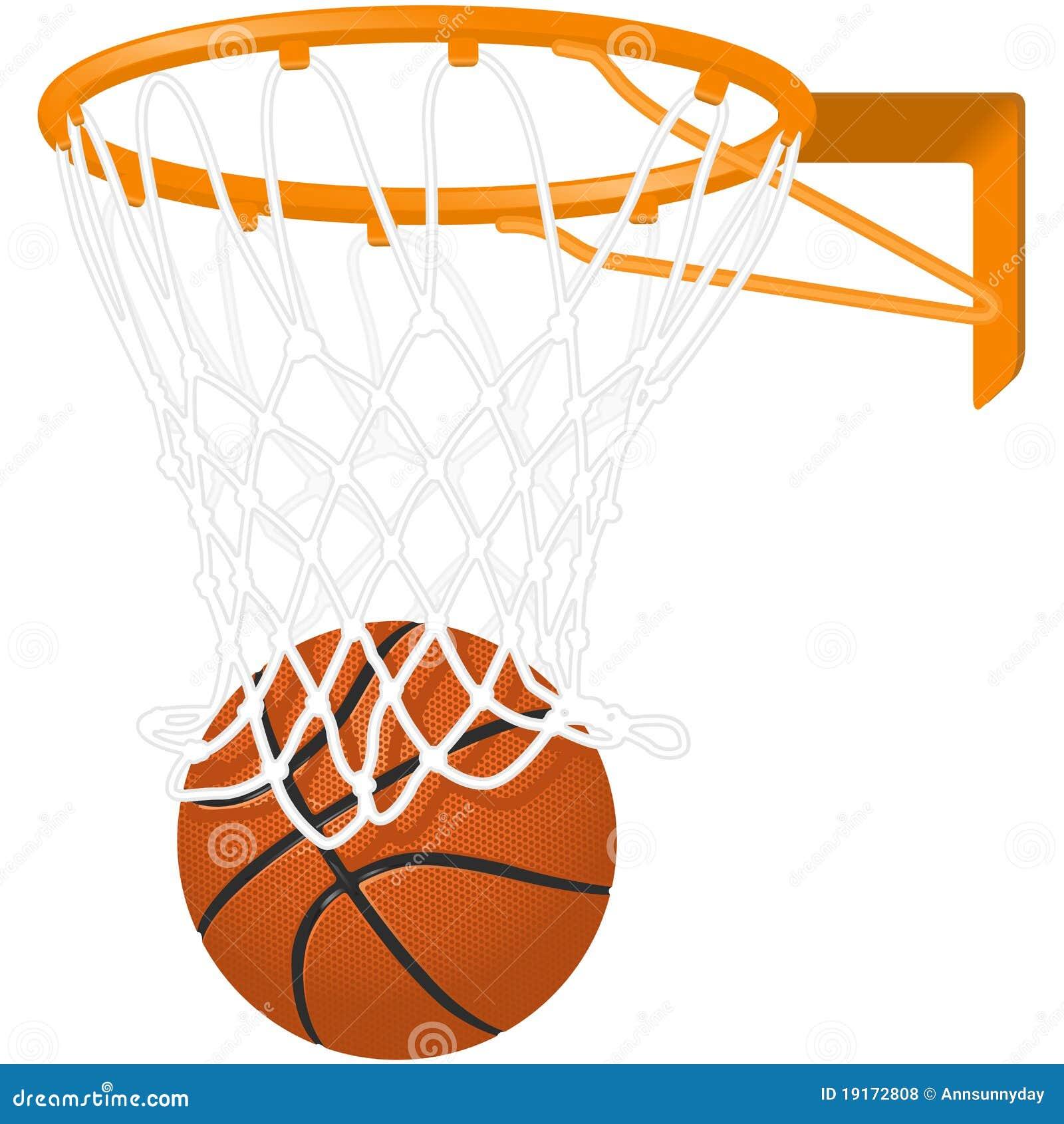 basketball hoop and ball stock vector illustration of hoop 19172808