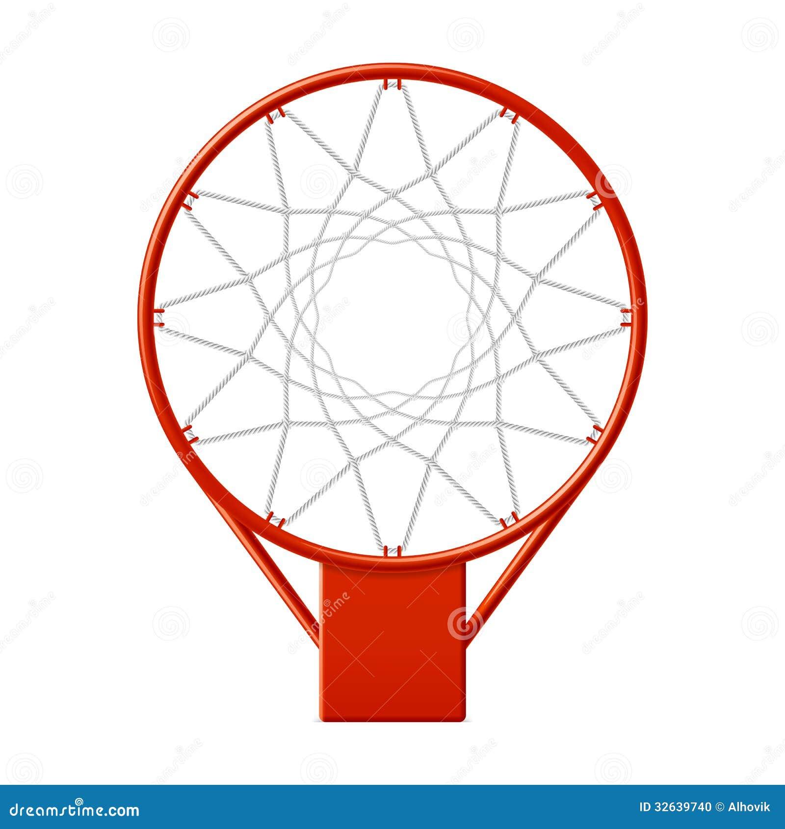 Basketball hoop stock vector. Image of basket, equipment ...