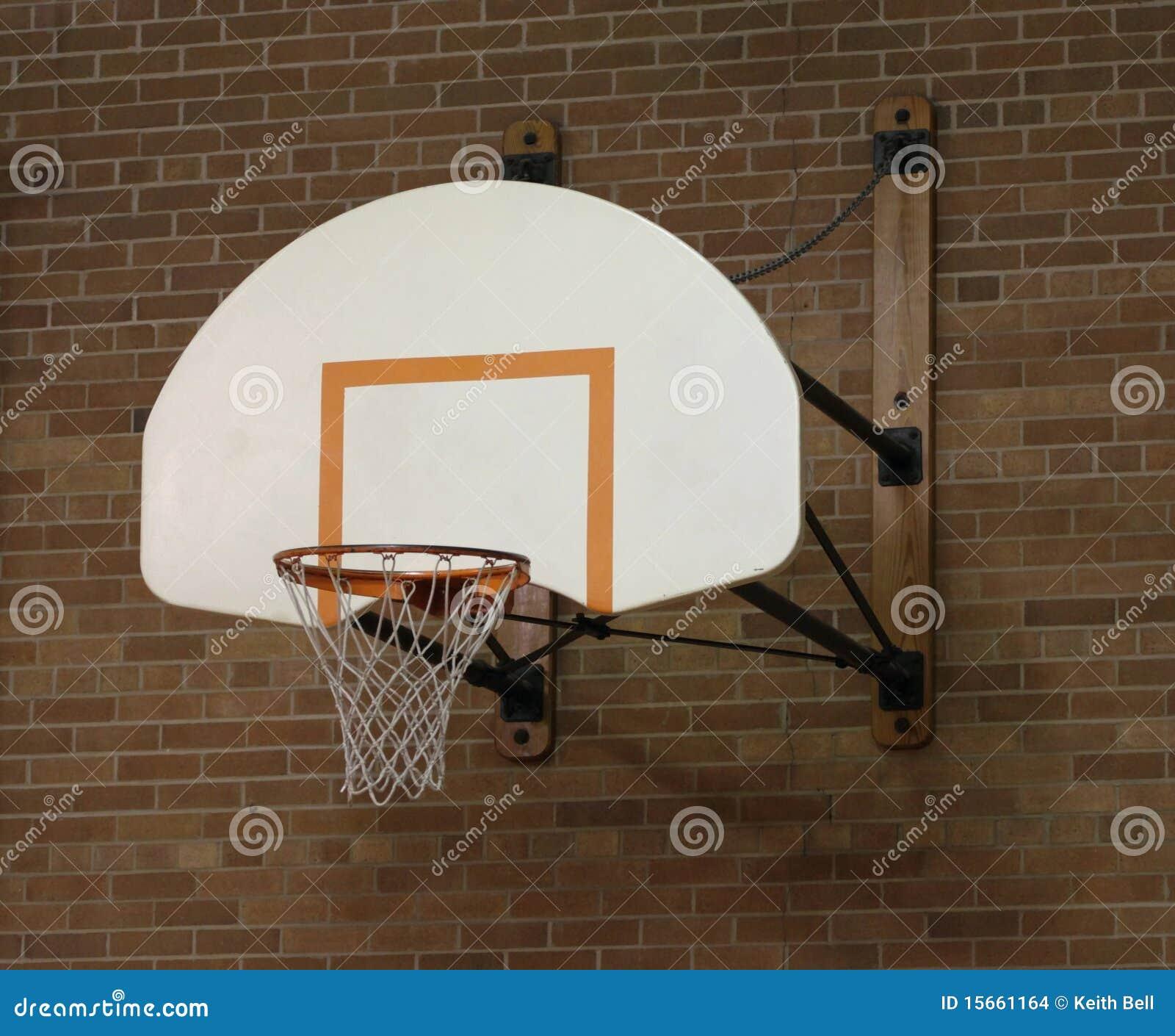 basketball hoop in old gym stock photo image of backboard Basketball Net Clip Art Basketball Clip Art Black and White