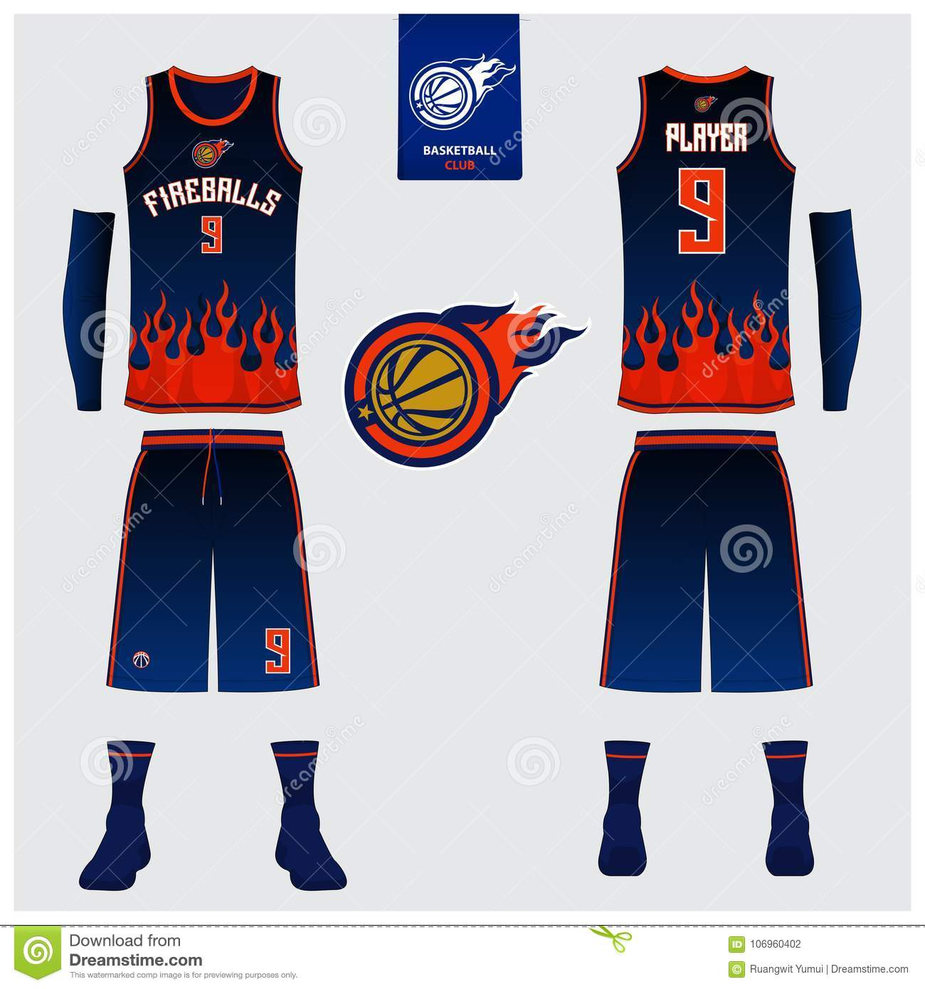 basketball jersey shorts socks template for basketball club front and back view sport uniform tank top t shirt mock up stock vector illustration of icon jersey 106960402 https www dreamstime com basketball jersey shorts socks template club front back view sport uniform tank top t shirt mock up design mockup vector image106960402