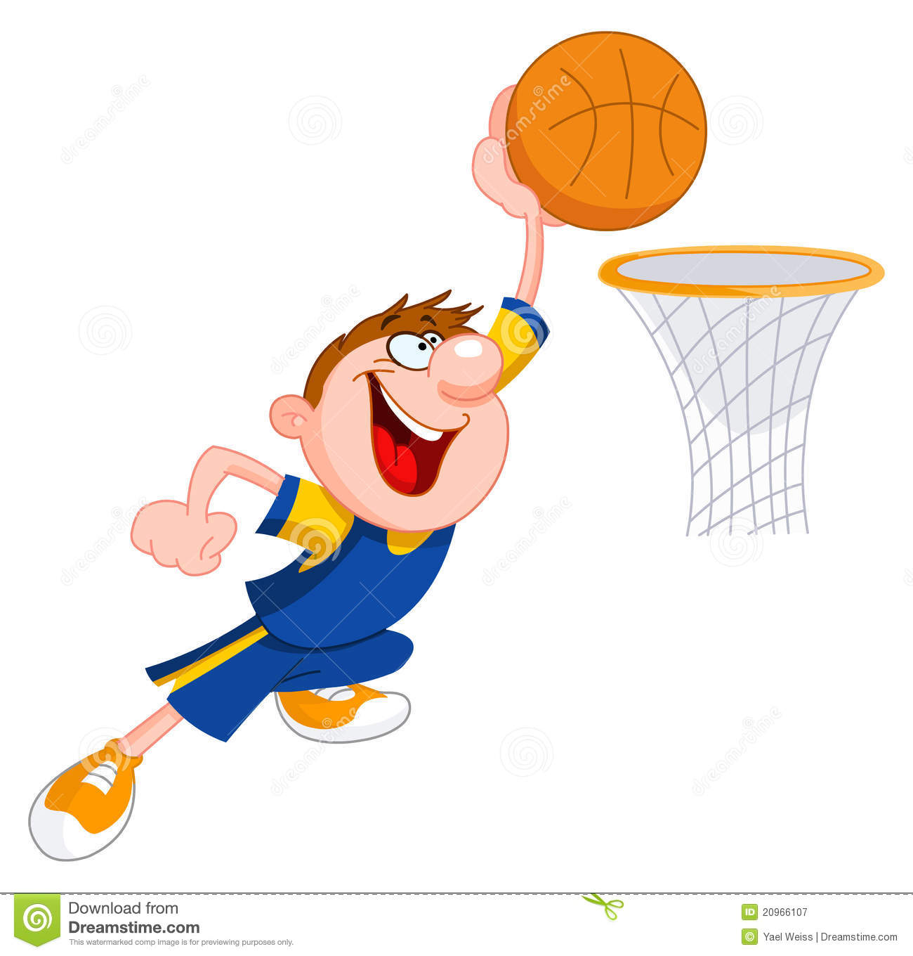 clipart playing basketball - photo #45