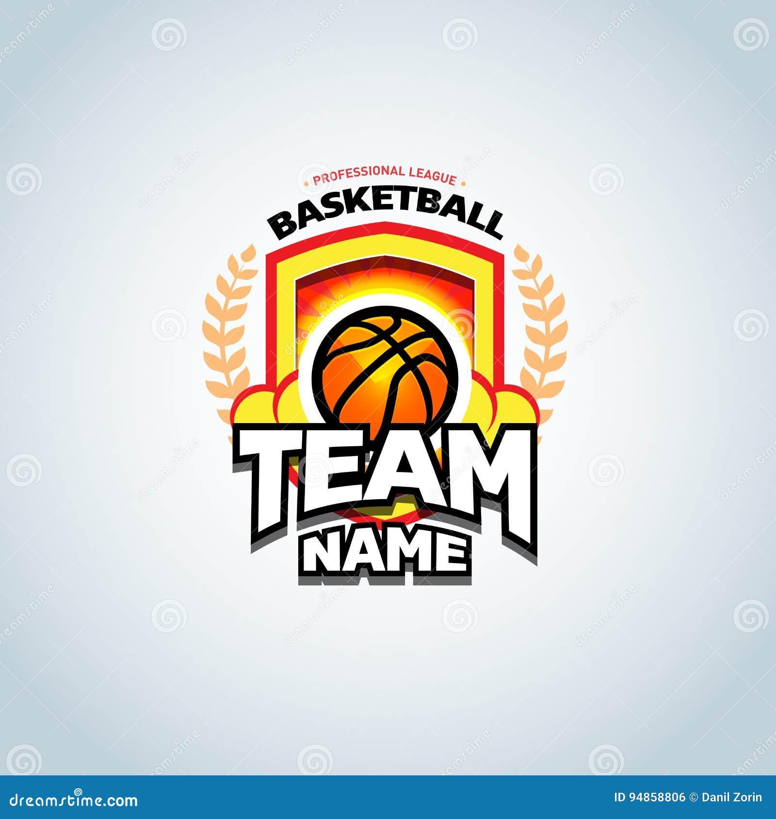 Download Basketball Logo Template Logotype Badge Design Sport