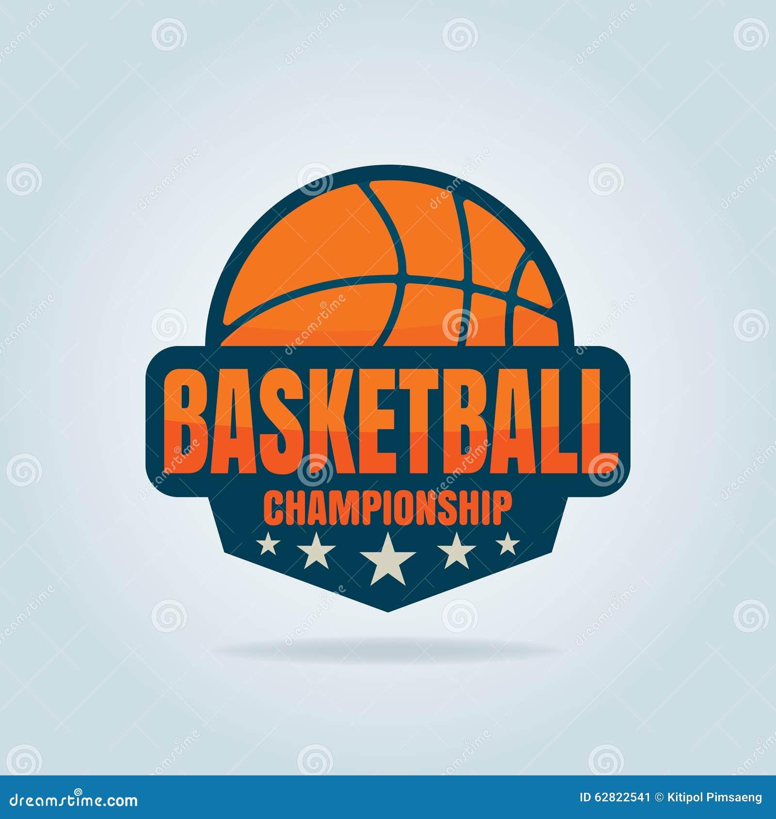 Basketball Logo Template Stock Vector - Image: 62822541