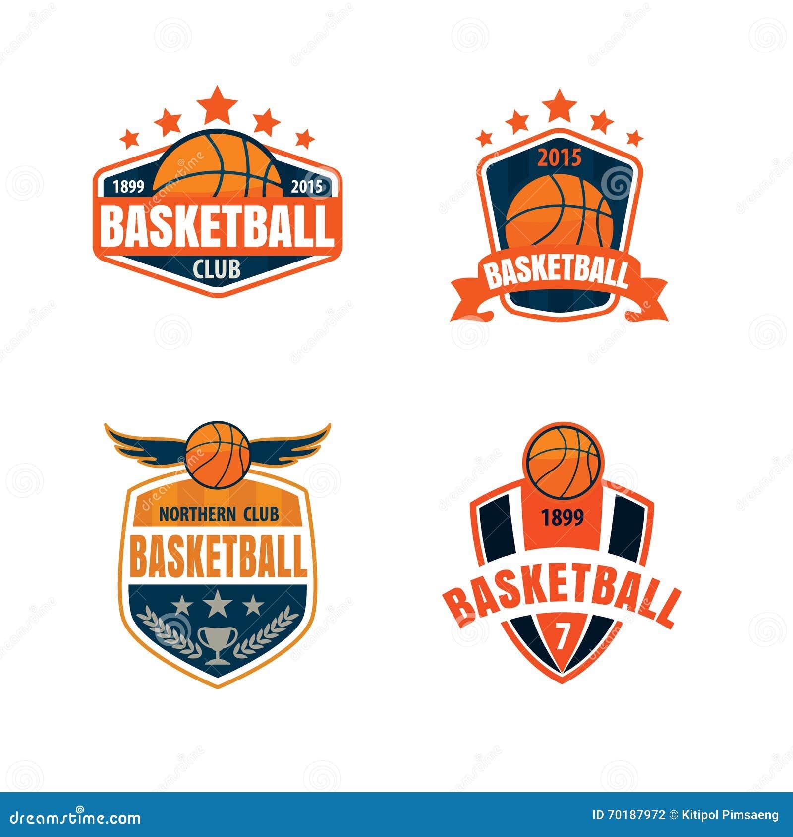 Basketball logo template stock vector. Illustration of ...