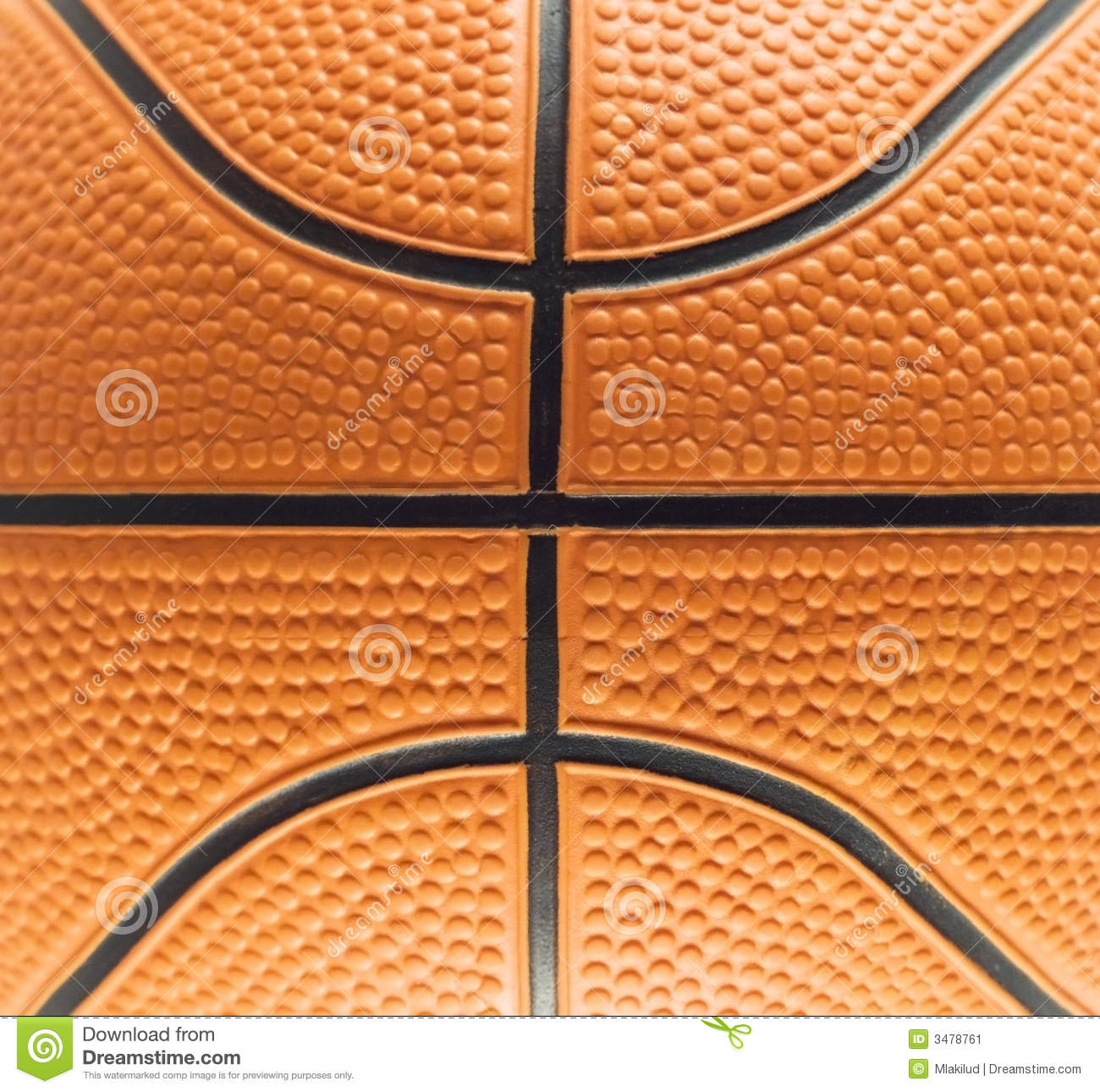 Basketball Pattern Stock Image Image 3478761