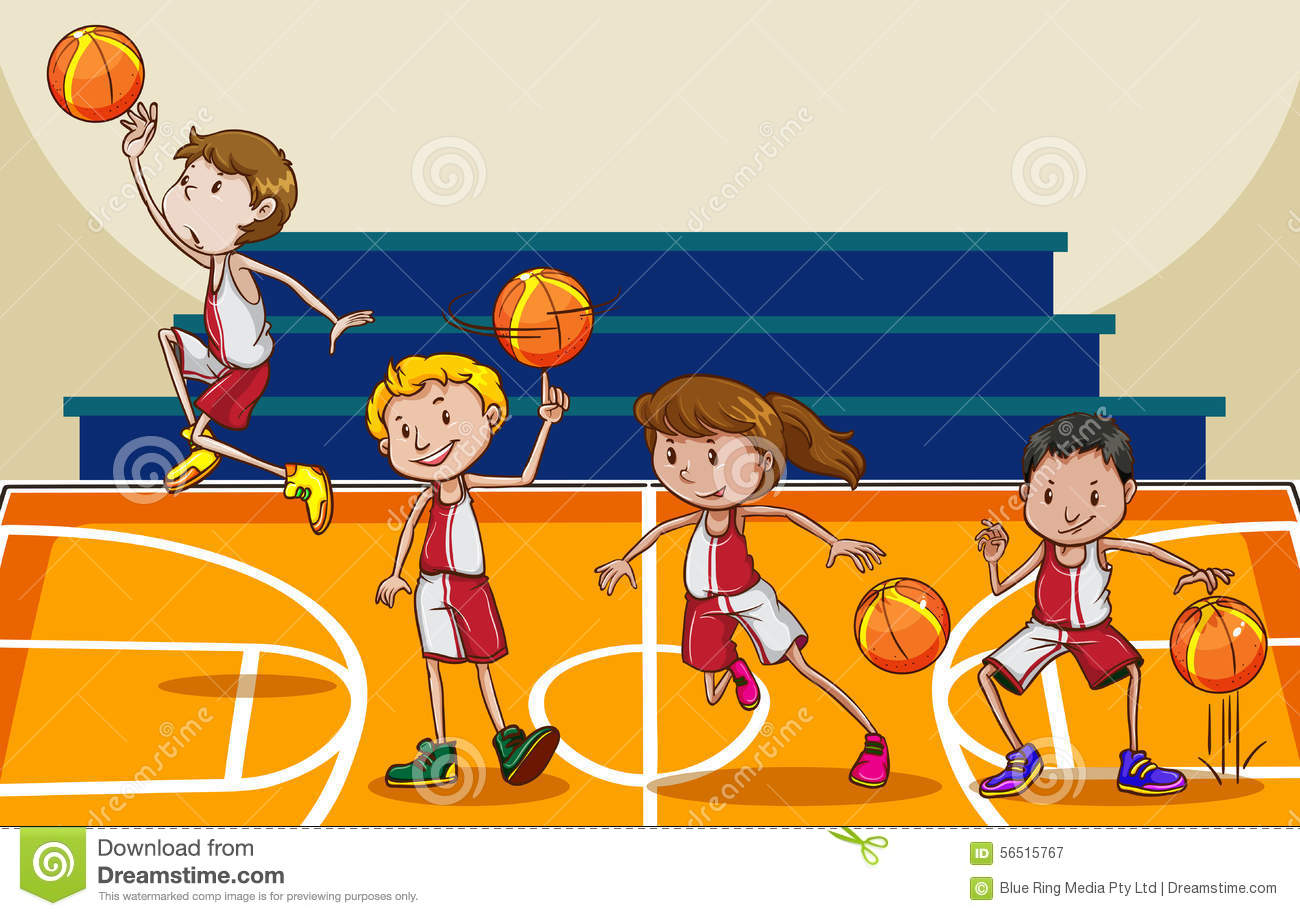 Basketball Stock Vector - Image: 56515767