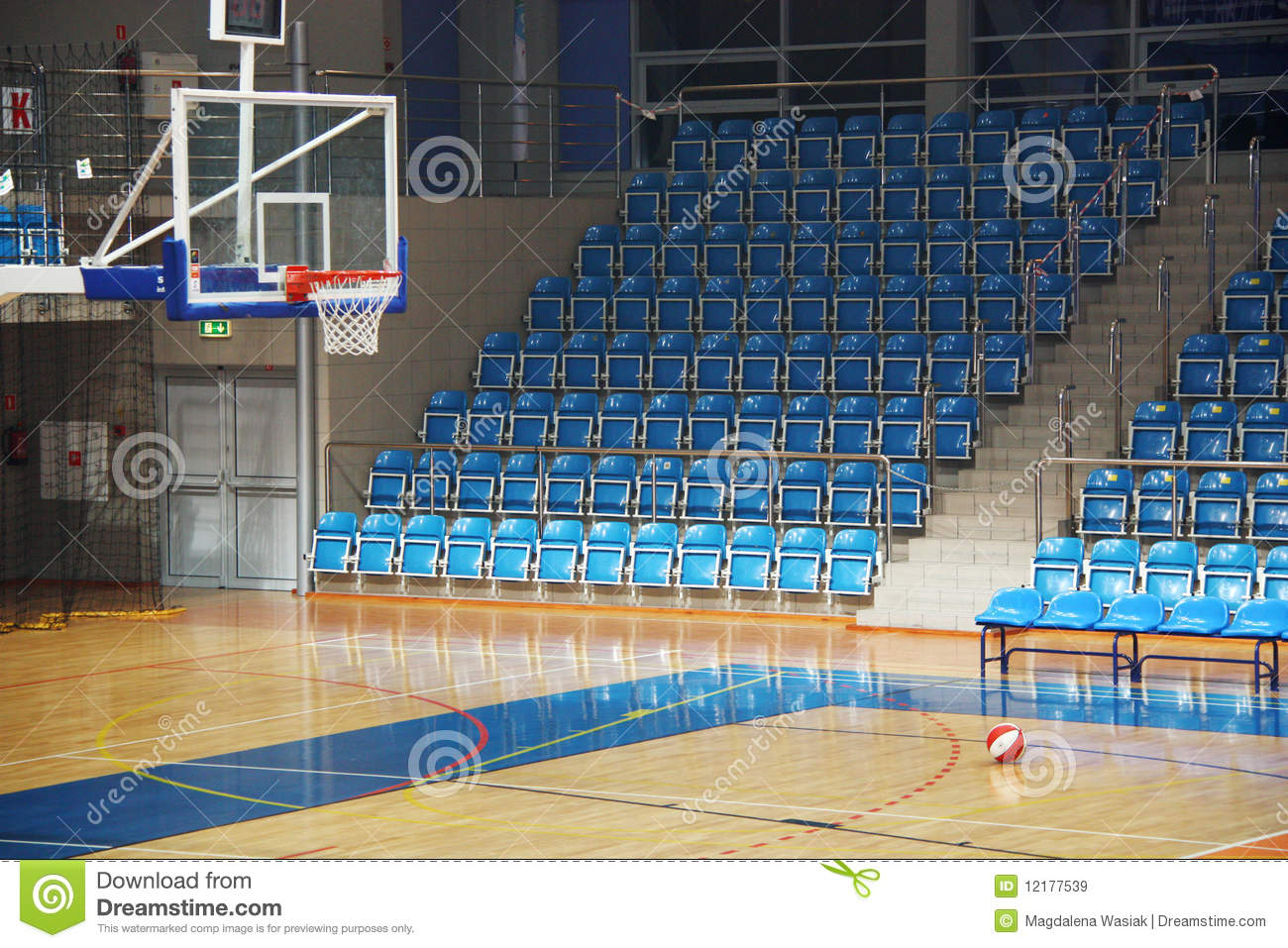 basketball pitch royalty free stock images image 12177539