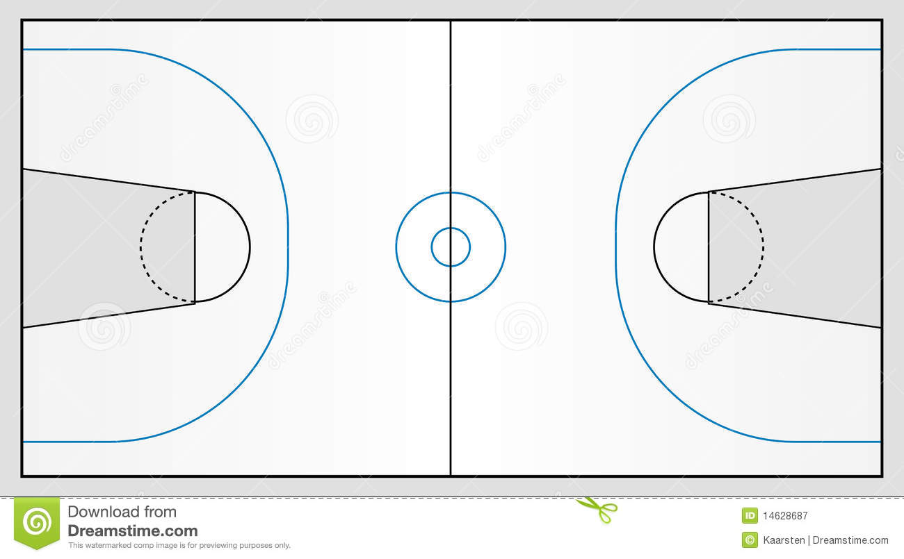 Basketball Pitch Royalty Free Stock Photography Image