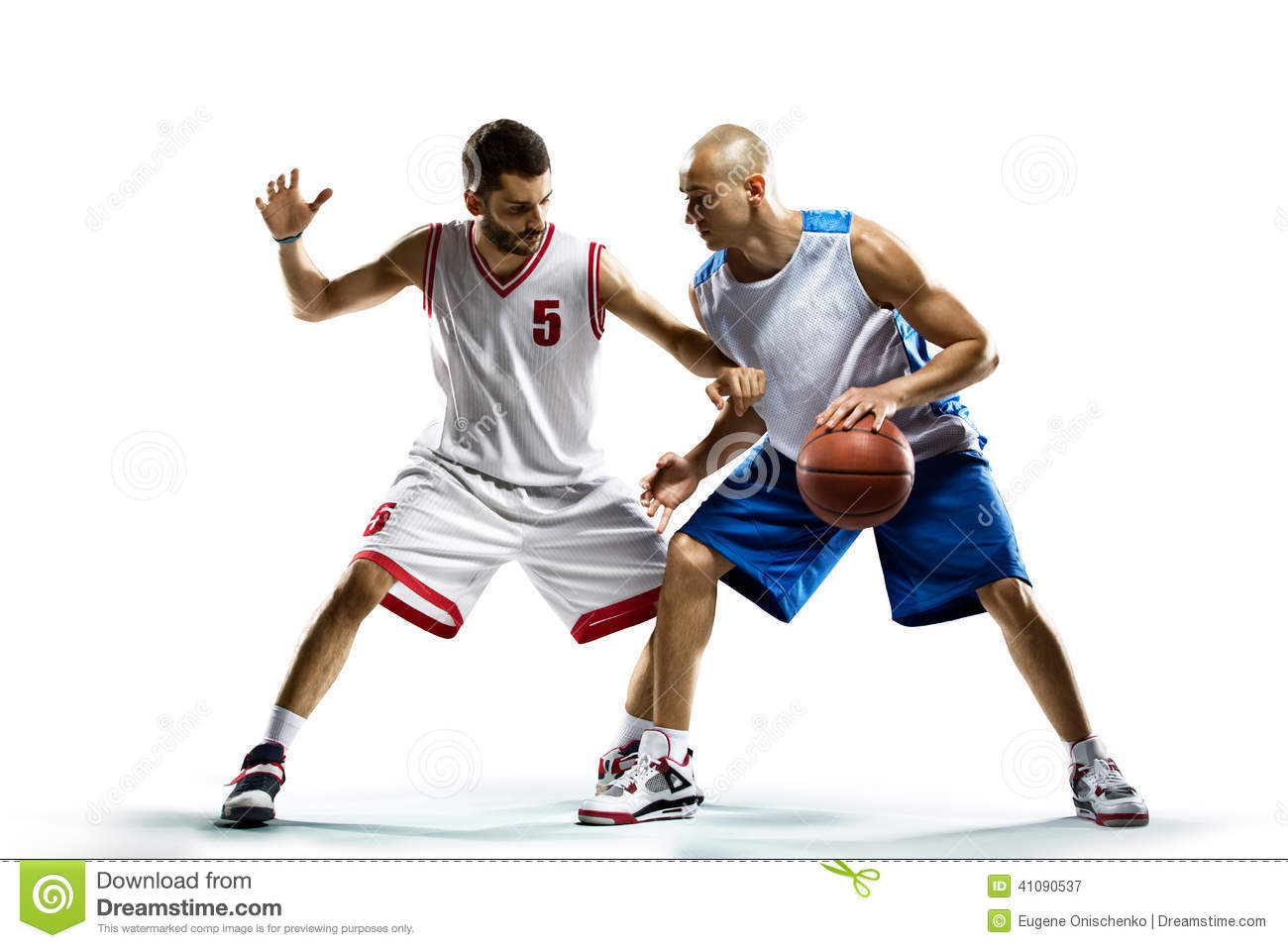 Basketball Player In Action Stock Photo - Image: 41090537