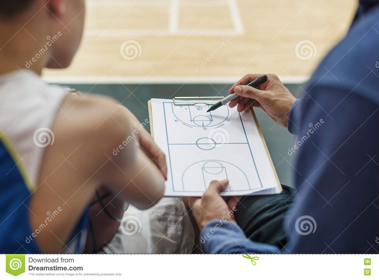 3d small people as super hero stock image image 29971731 - Basketball Player Sport Game Plan Tactics Concept Royalty Free Stock Photos