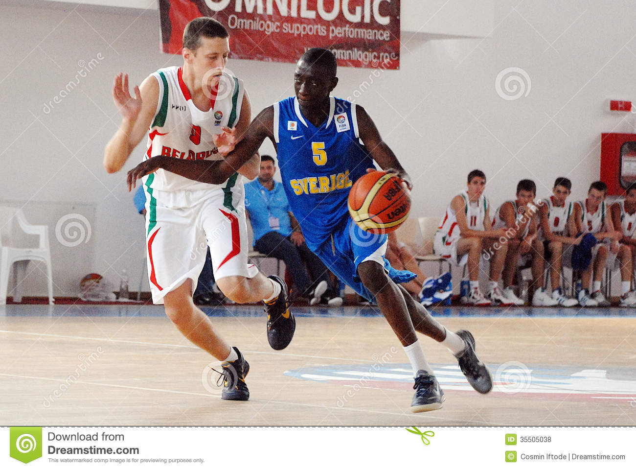 Basketball Players In Action Editorial Stock Photo - Image: 35505038