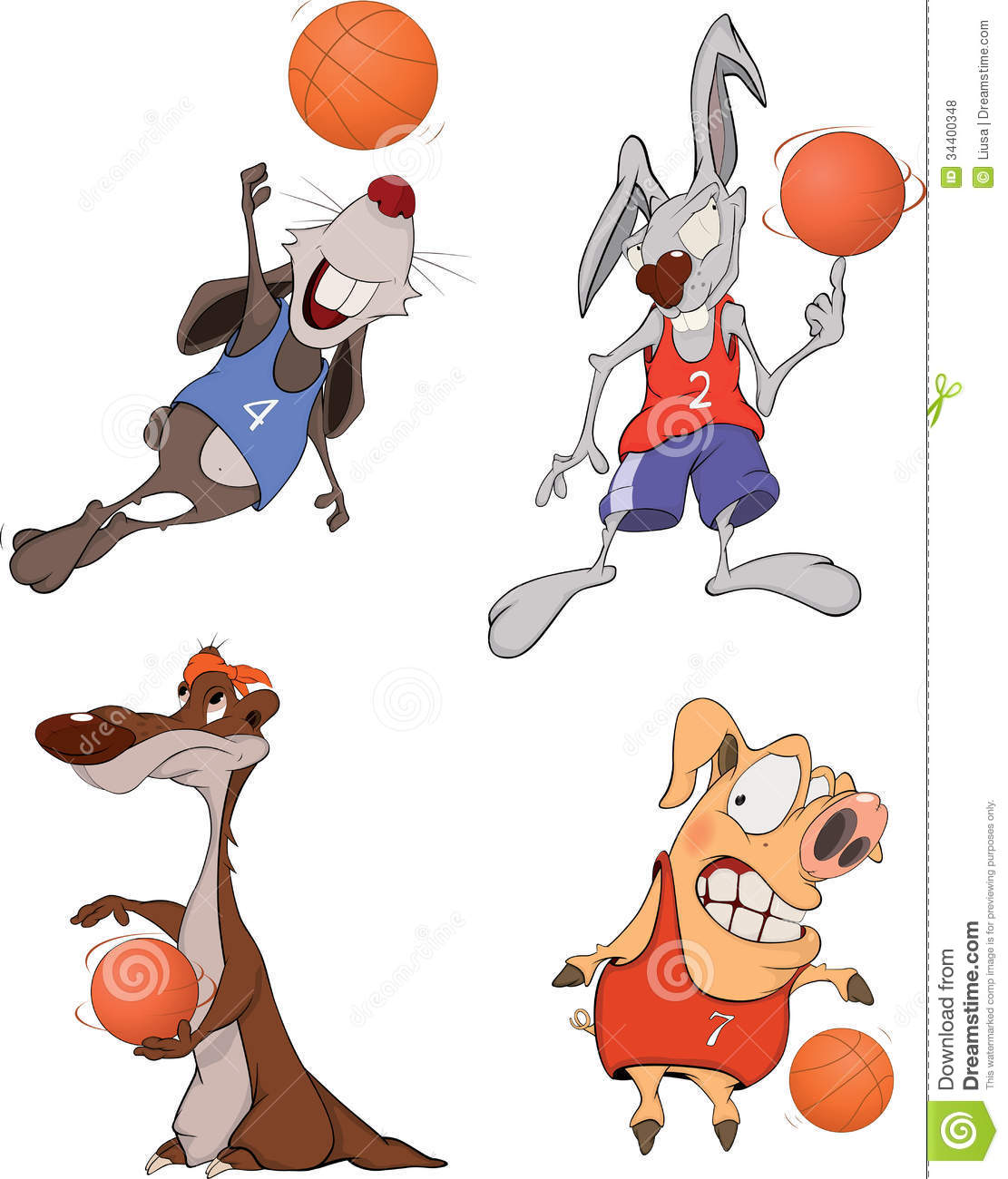 Todd Clipart 20 Fee Cliparts Download Imagenes: The Basketball Players. Clip Art. Cartoon Stock Vector