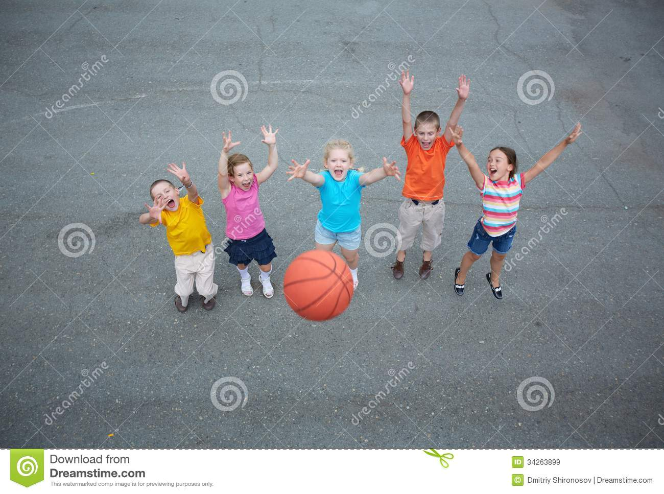 Basketball Players Royalty Free Stock Images - Image: 34263899