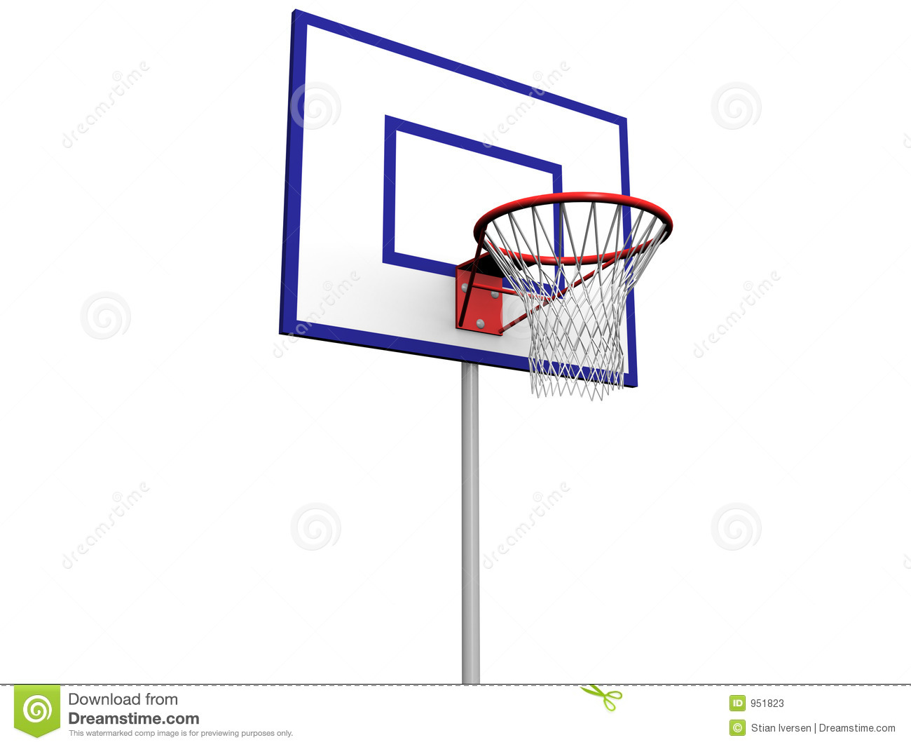 Basketball Pole Stock Photos - Image: 951823