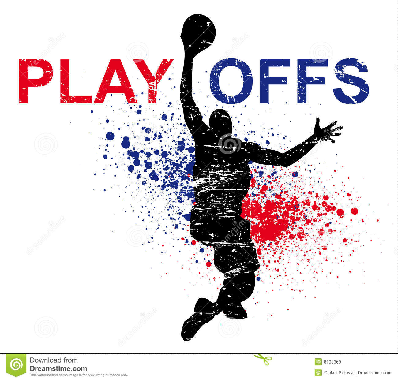 Basketball Poster Royalty Free Stock Images - Image: 8108369
