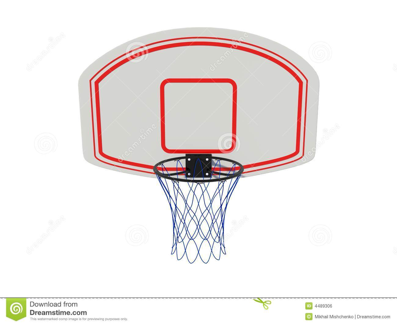 Basketball Ring Royalty Free Stock Image - Image: 4489306