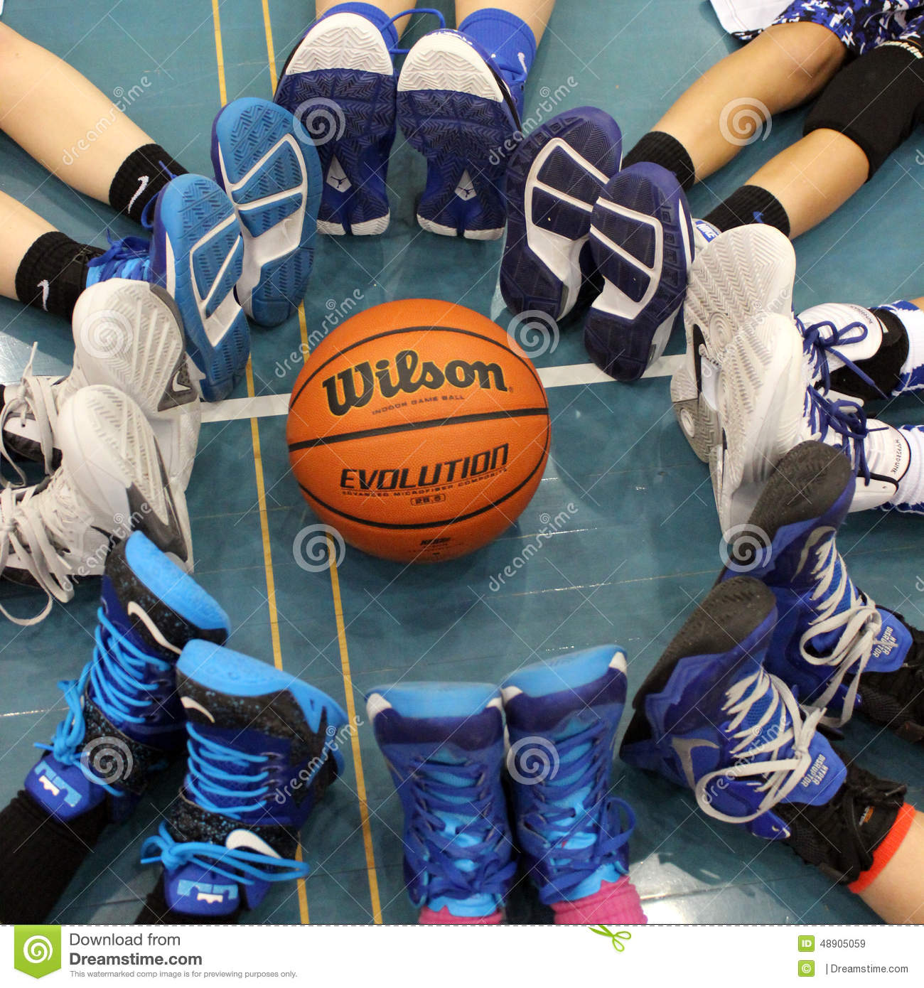 Basketball Shoes Editorial Stock Image - Image: 48905059