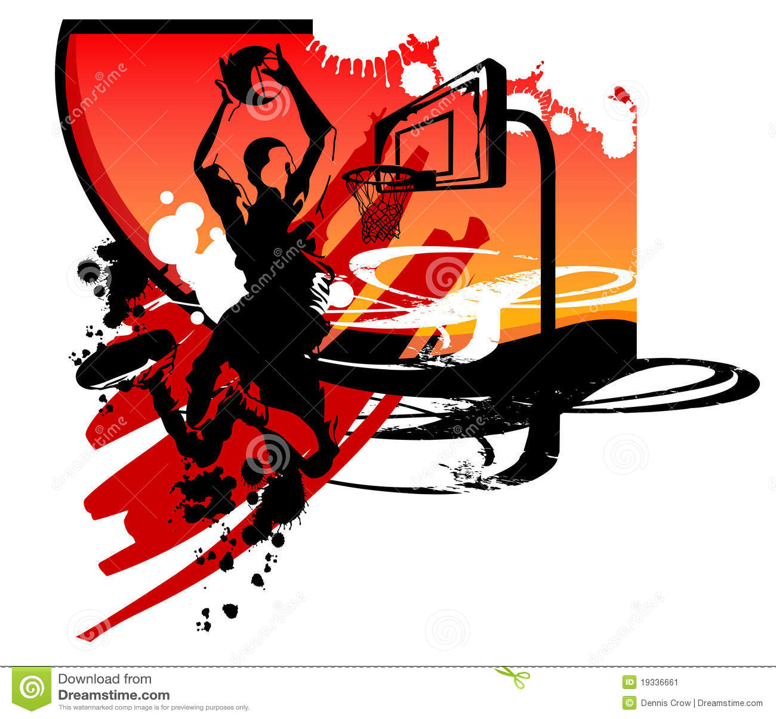 Basketball Silh...