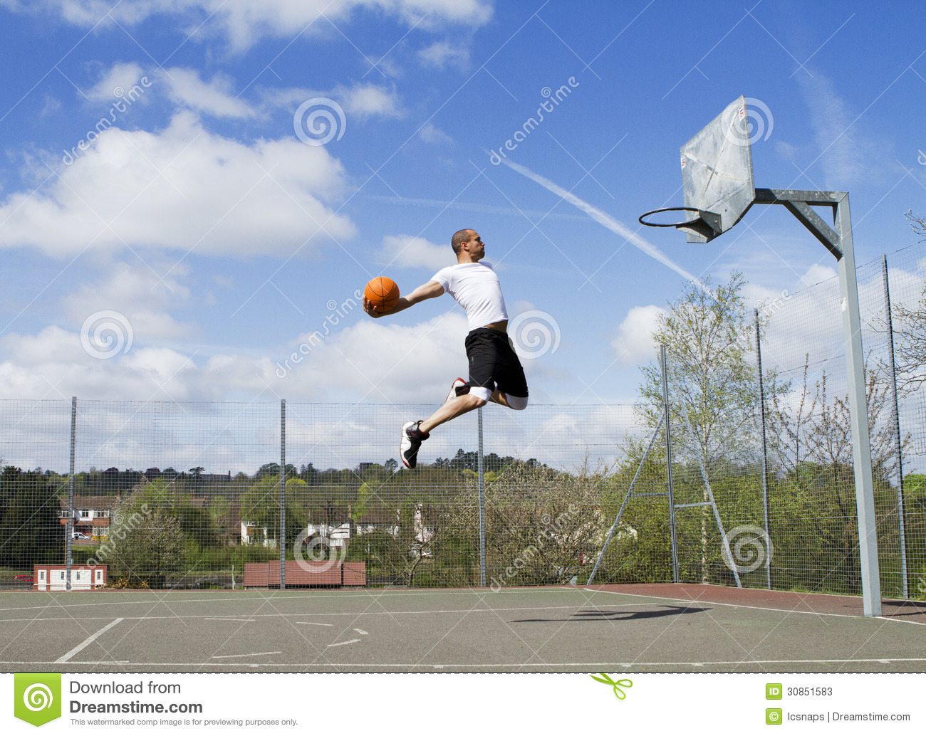 Basketball-Slam Dunk